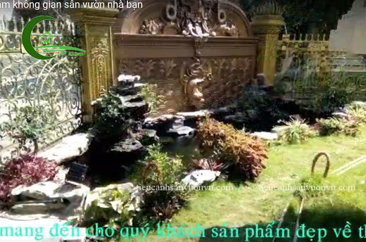 bể cá koi sân vườn