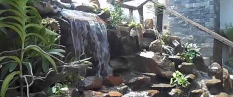 Dịch vụ thi công thác nước1