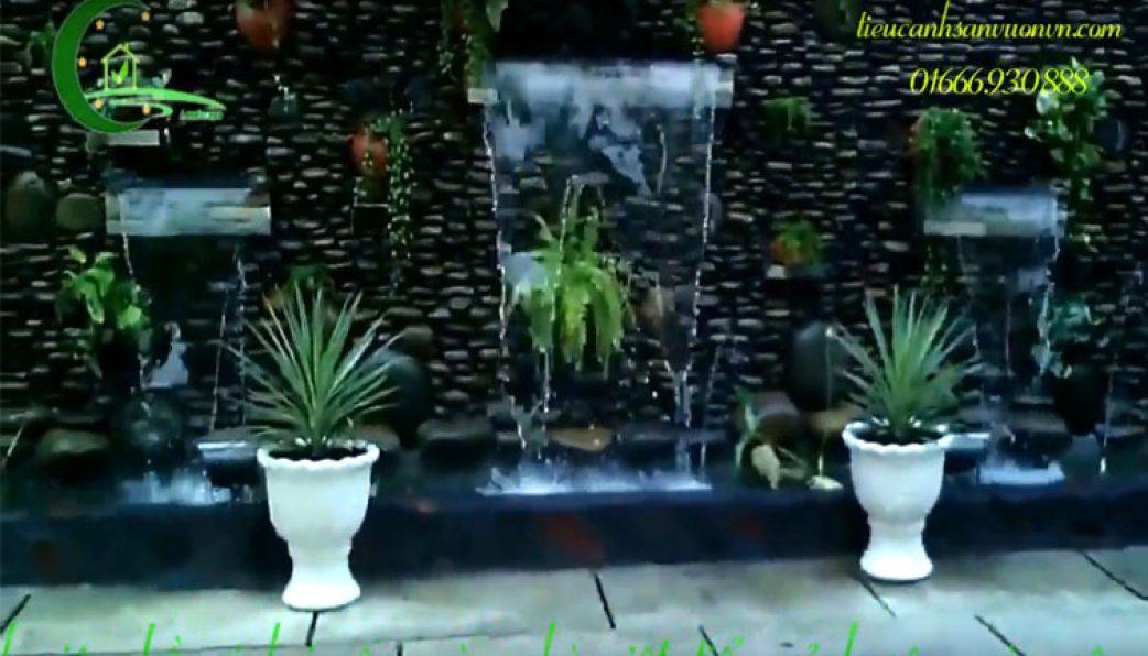 Dịch vụ thi công thác nước 3